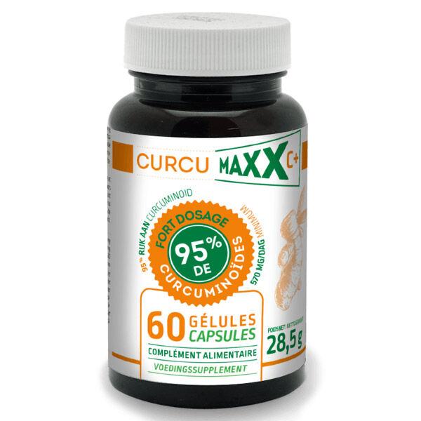 Curcumaxx C+ 95% de Curcuminoïdes Bio 60 gélules