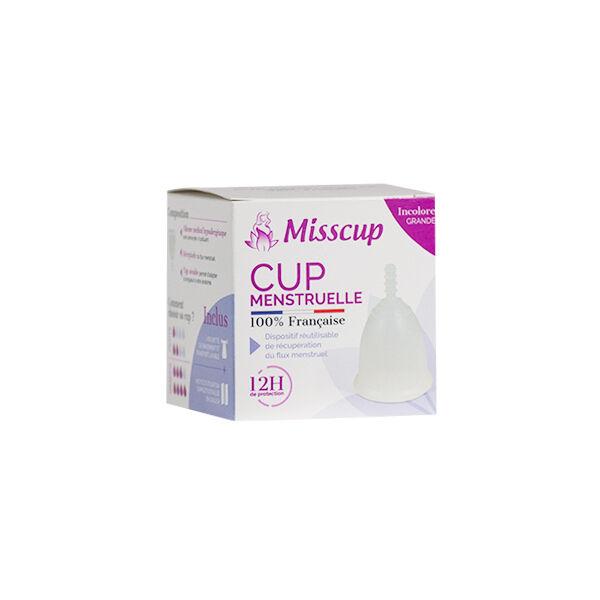 Miss Cup Coupe Menstruelle Grande Incolore