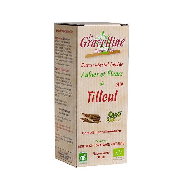 La Gravelline Extrait Végétal Liquide Aubier et Fleurs de Tilleul Bio 500ml