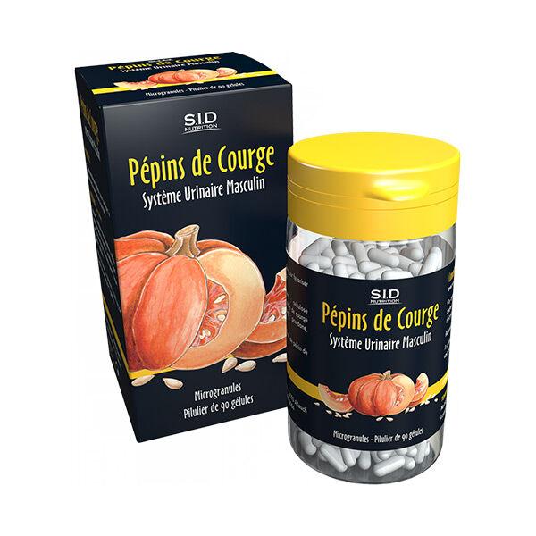 SID Nutrition SIDN Phyto classics Pépins de Courge 90 gélules