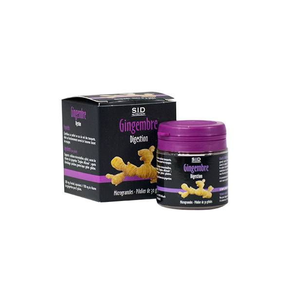 SIDN Phyto Classics Gingembre Digestion 30 gélules