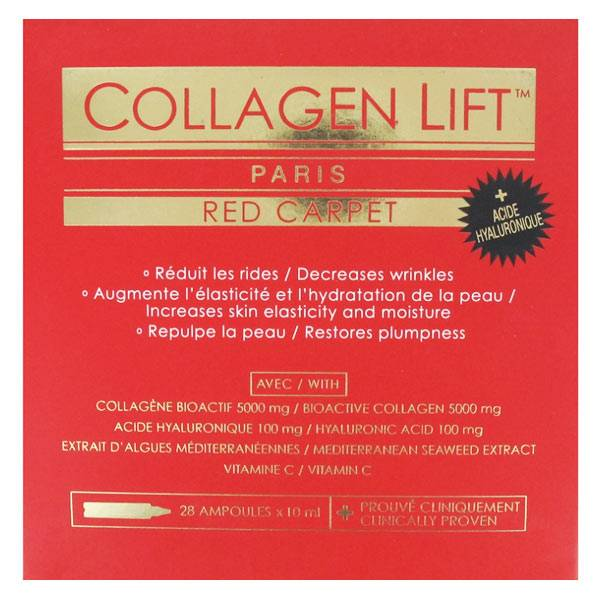 SID Nutrition Collagen Lift Red Carpet 28 ampoules