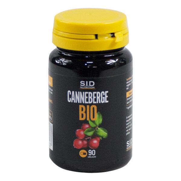 SID Nutrition SIDN Bio Canneberge 90 gélules
