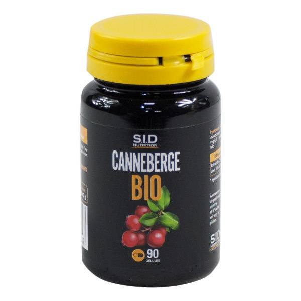 SID Nutrition Bio Canneberge 90 gélules