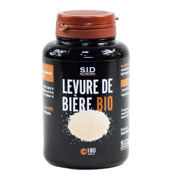 SIDN Levure Bière Bio 180 gélules