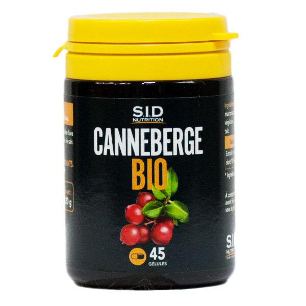 SID Nutrition SIDN Canneberge Bio 45 gélules