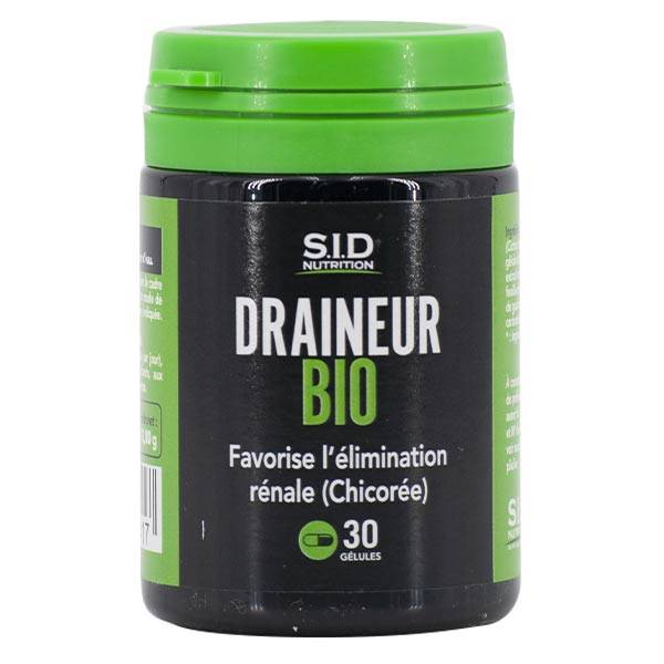 SID Nutrition Draineur Bio 30 gélules