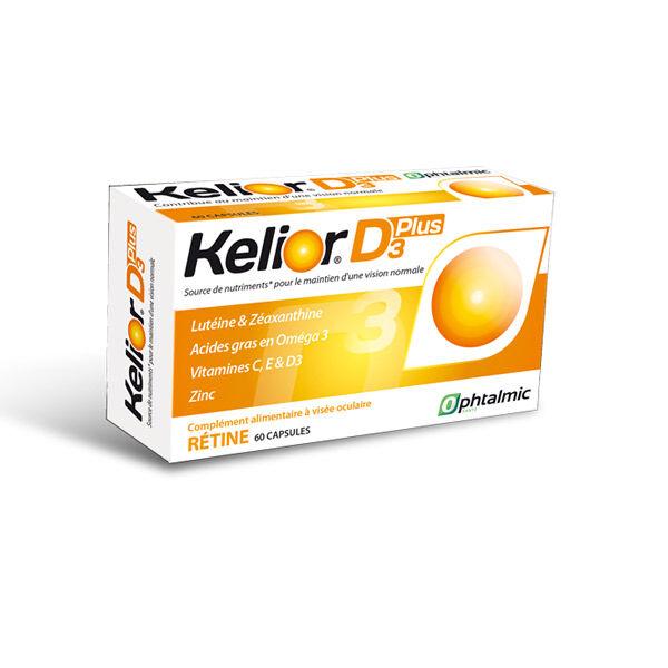 Ophtalmic Kelior D3 Plus 60 capsules