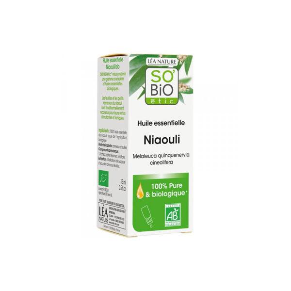 So Bio Etic So'Bio Etic Huile Essentielle Niaouli Biologique 15ml