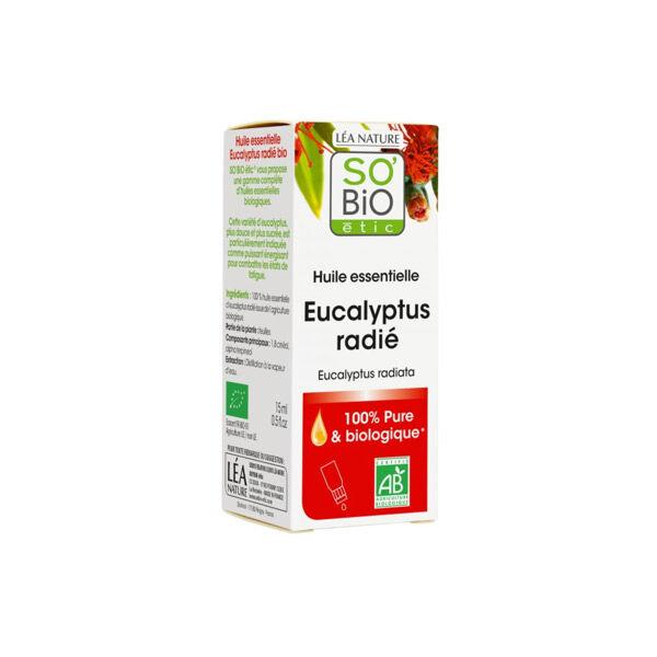 So'Bio Étic Arôma Huile Essentielle Eucalyptus Radié 15ml