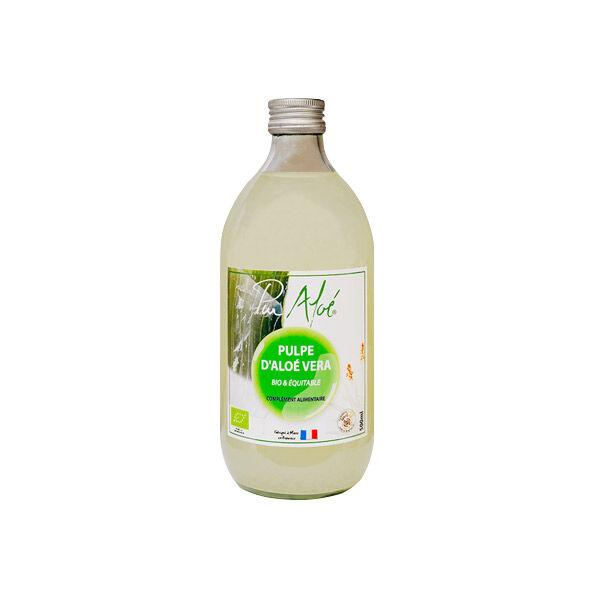 Pur Aloé Pur Aloe Pulpe d'Aloe Vera Bio 500ml
