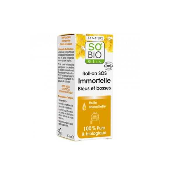 So'Bio Étic Arôma Roll-On SOS Immortelle Bleus et Bosses 5ml
