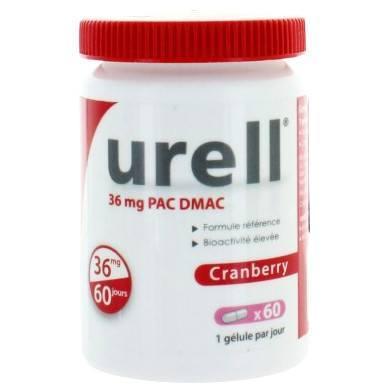 Urell Cranberry 60 gélules