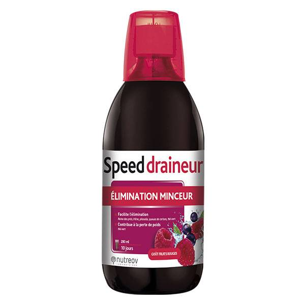 Nutreov Physcience Speed Draineur Ultra Goût Fruits Rouges 280ml