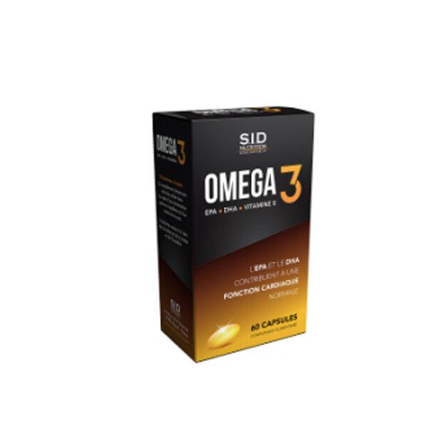 SID Nutrition Oméga 3 60 capsules