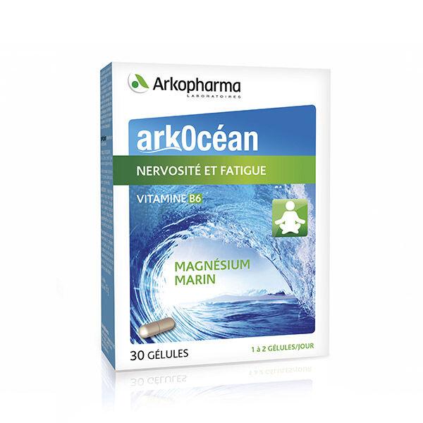 Arkopharma ArkOcéan Magnésium Marin et Vitamine B6 30 gélules