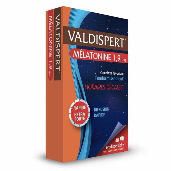 Valdispert Mélatonine 1,9mg 40 comprimés