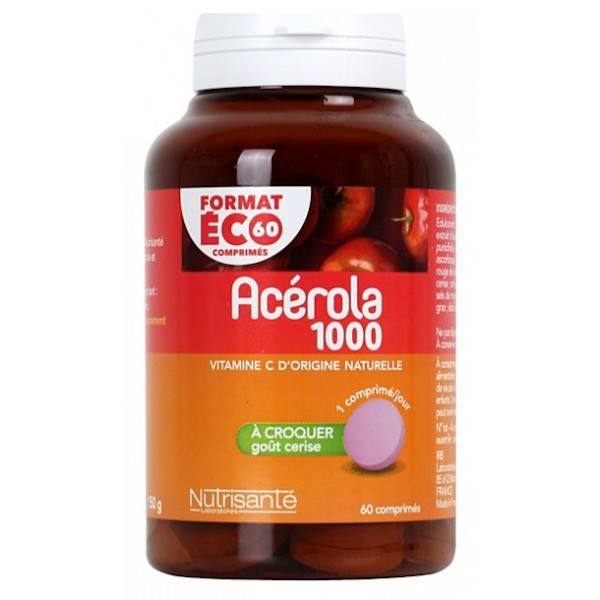 Nutrisanté Acérola 1000 60 comprimés