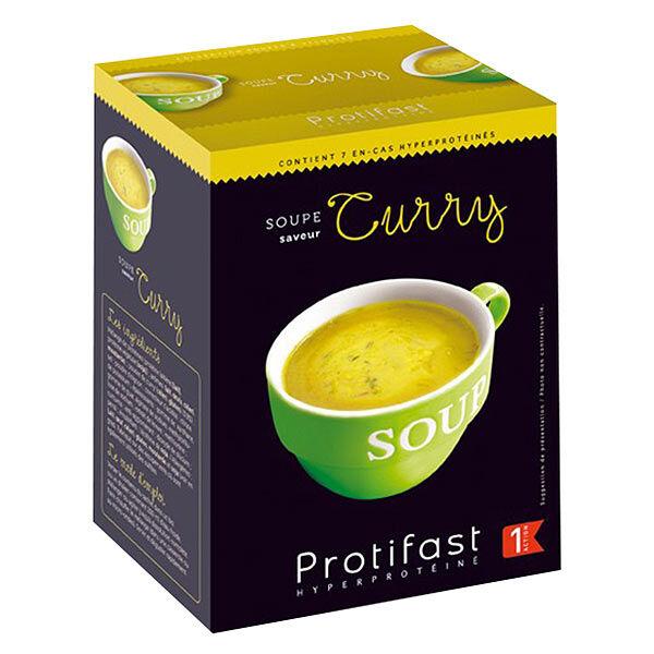 Protifast Soupe Hyperprotéinée Curry 7 sachets
