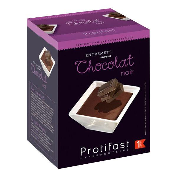 Protifast Entremet Hyperprotéiné Chocolat Noir 7 Sachets