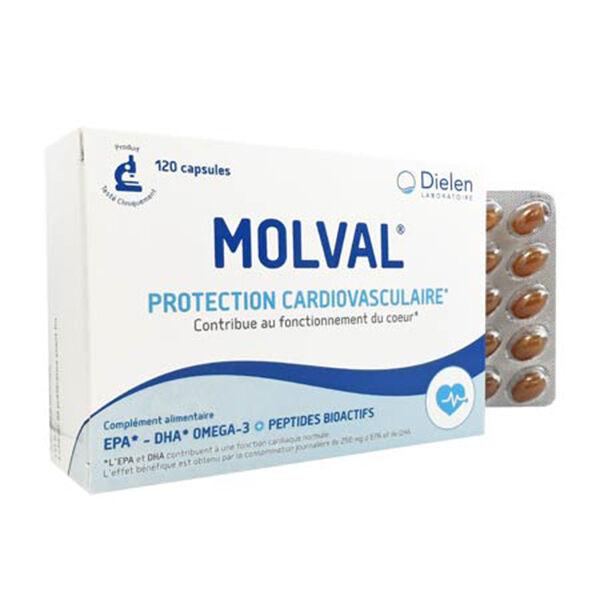 Dielen Molval 120 capsules