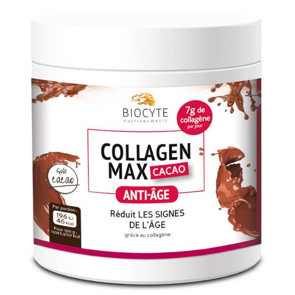 Biocyte Collagen Max Anti-Âge Cacao 260g