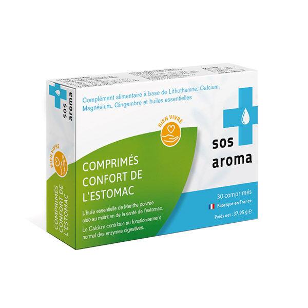 SOS Aroma Confort de l'Estomac 30 comprimés