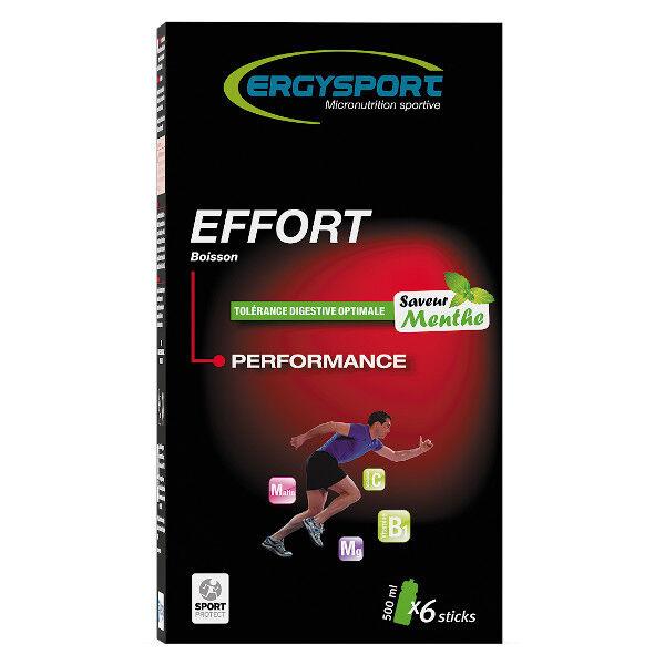 Nutergia Ergysport Effort Menthe 6 sticks