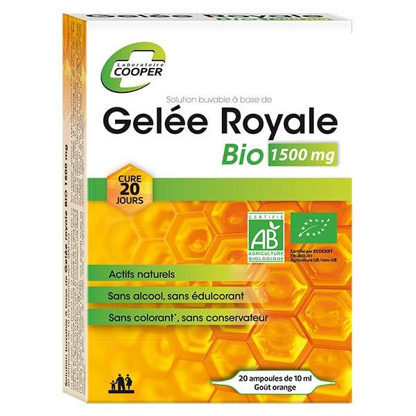 Cooper Gelée Royale Bio 1500mg 20 ampoules
