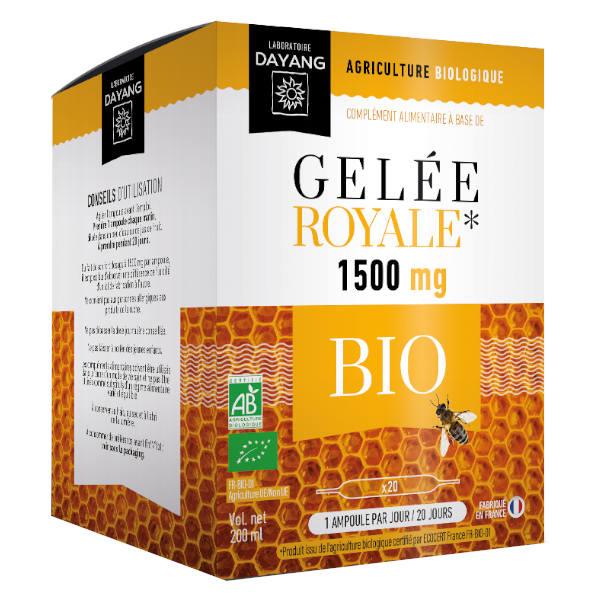 Dayang Gelée Royale Bio 1500mg 20 ampoules