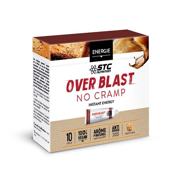 STC Nutrition Over Blast No Cramp Goût Cola 10 gels