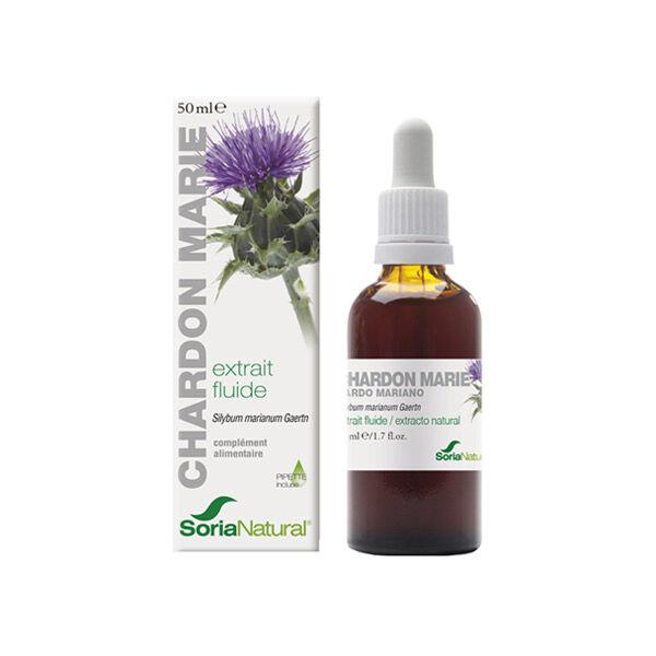 Soria Natural Extrait Fluide Glycerine Chardon Marie 50ml