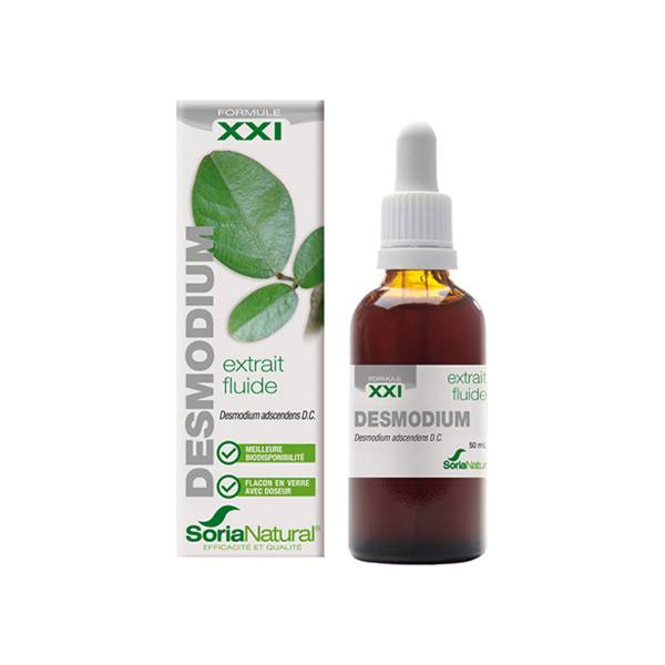 Soria Natural Extrait Fluide Glycerine Desmodium XXI 50ml