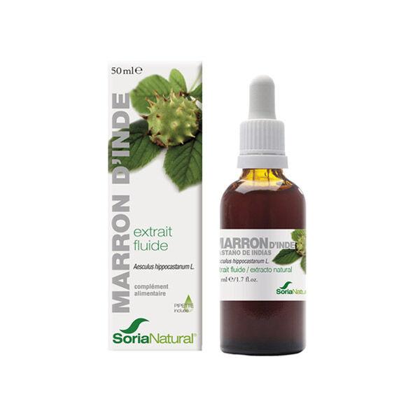 Soria Natural Extrait Fluide Glycerine Marron d'Inde 50ml