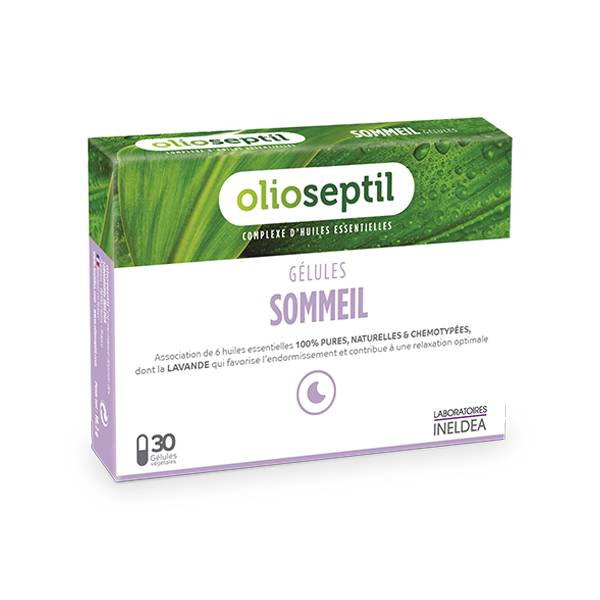 Ineldea Olioseptil Sommeil 30 gélules