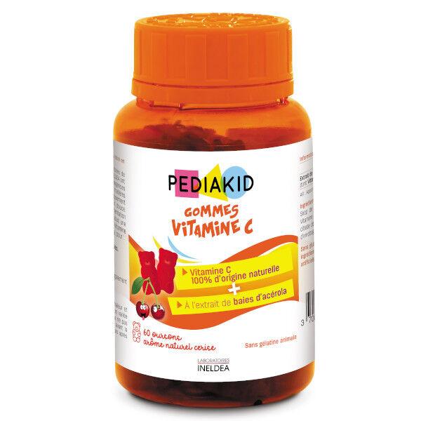 Pediakid Gommes Vitamine C 60 oursons