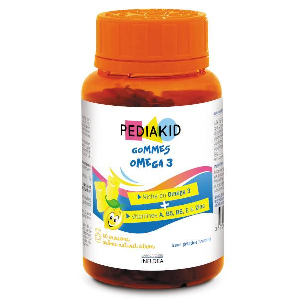 Pediakid Gommes Omega 3 60 oursons