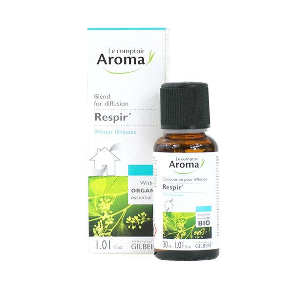 Le Comptoir Aroma Composition pour Diffusion Respir Maux Hivernaux 30ml