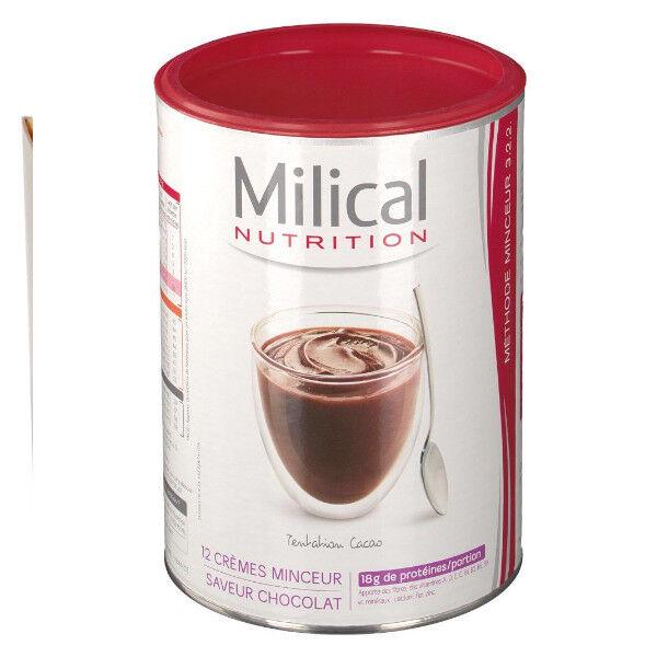 Milical Crème Hyperprotéinée Saveur Chocolat Format Eco 12 repas
