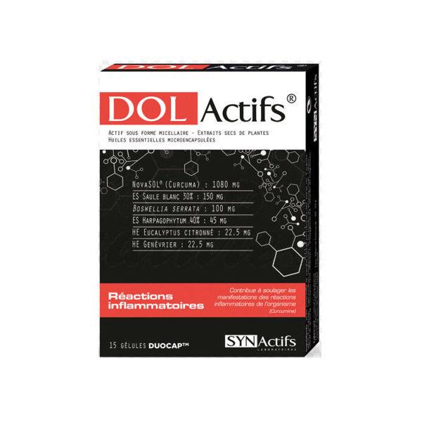 Synactifs Dolactifs Réactions Inflammatoires 15 gélules