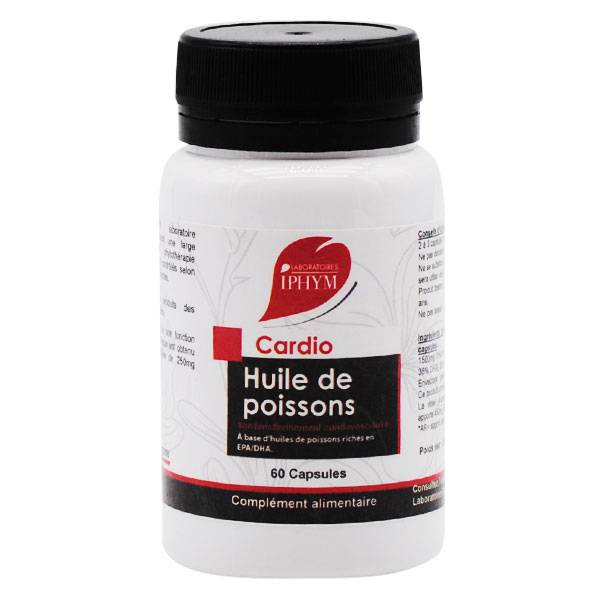 Iphym Huile de Poissons 60 capsules