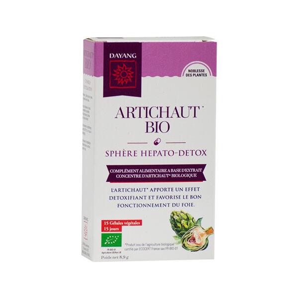 Dayang Artichaut Bio 15 gélules végétales