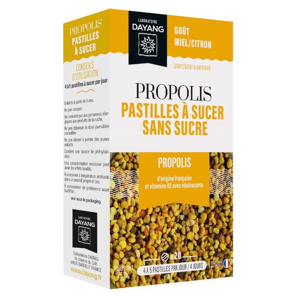 Dayang Propolis Pastilles à Sucer 20 pastilles