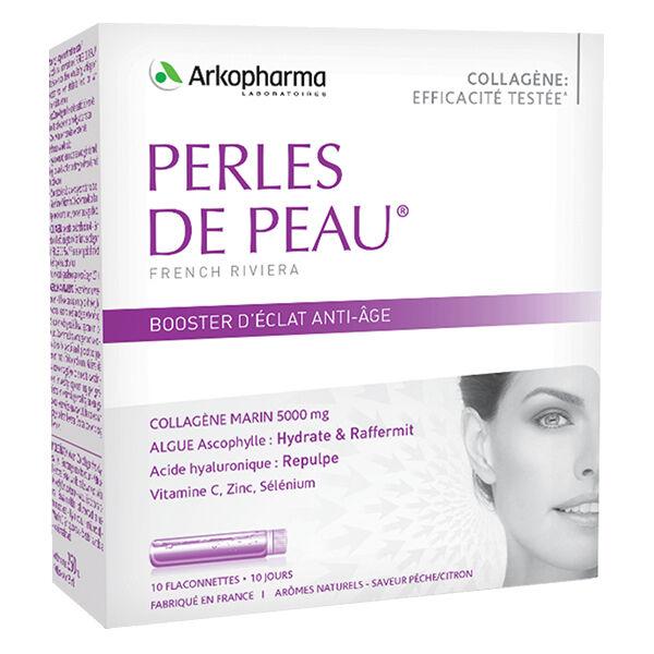 Arkopharma Perles de Peau Booster d'Eclat Anti-Âge 10 doses