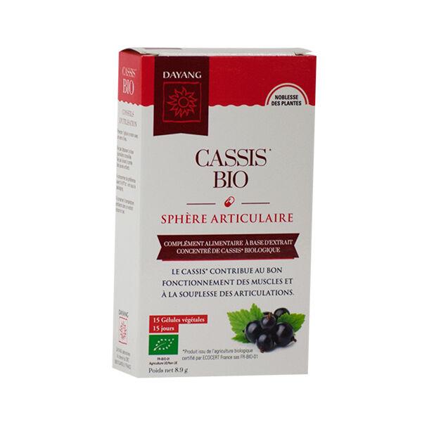 Dayang Cassis Bio 15 gélules végétales