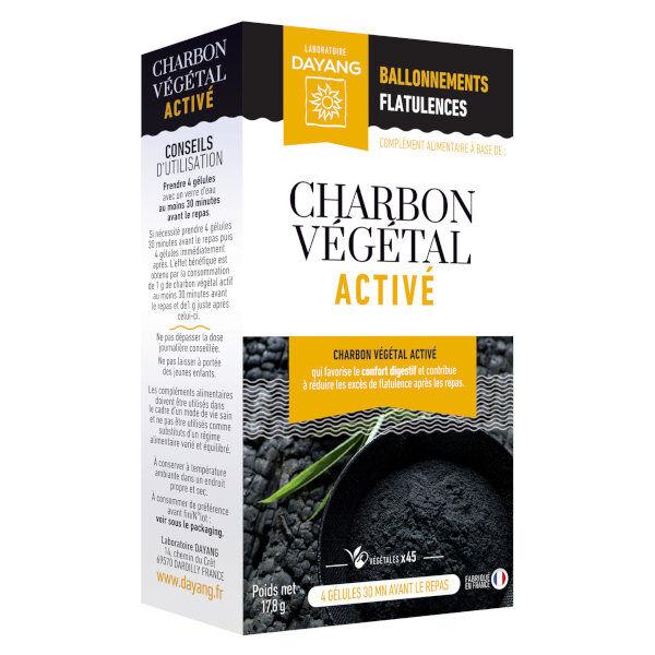 Dayang Charbon Végétal Activé 45 gélules