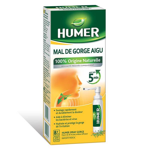 Humer Mal de Gorge Aigu Spray 30ml