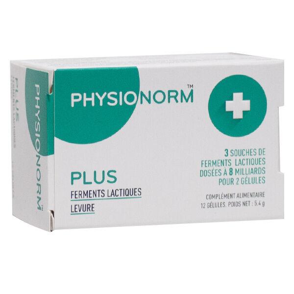 Immubio Physionorm Plus Ferments Lactiques 12 gélules