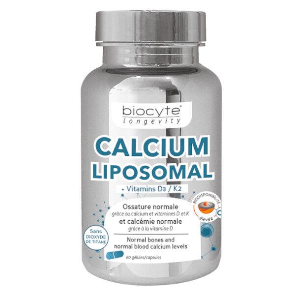 Biocyte Calcium D3 K2 60 gélules