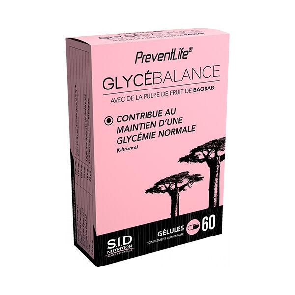 SID Nutrition Prevent Life GlycéBalance 60 gélules